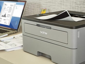 black and white laser printer featured image