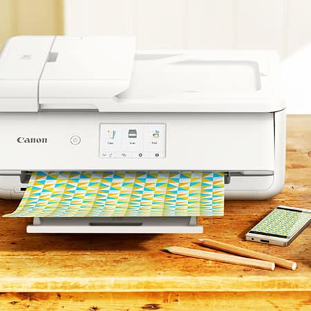 printer printing designs for cricut application