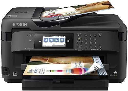 epson workforce wf 7710 image