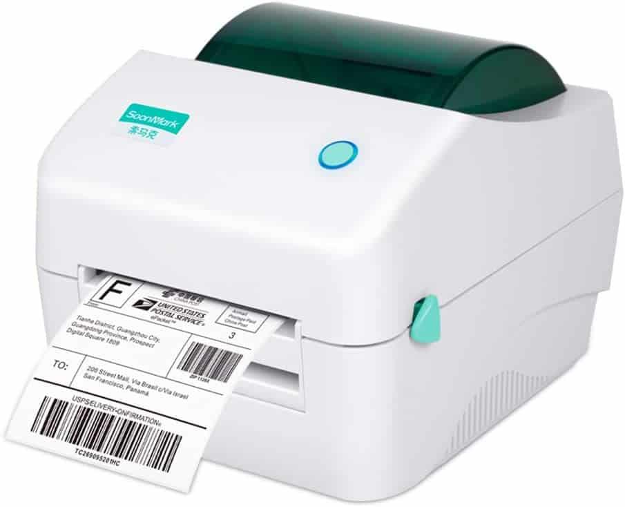 fangtek shipping label printer image