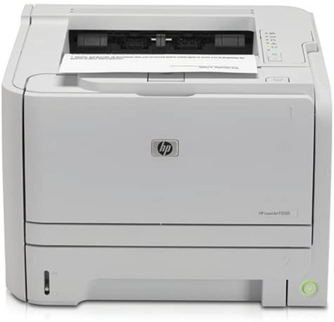 hp laserjet p2035 monochrome printer image