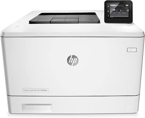hp laserjet pro m452dw color laser printer image