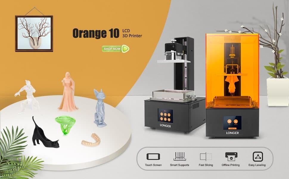 longer orange resin 3d printer