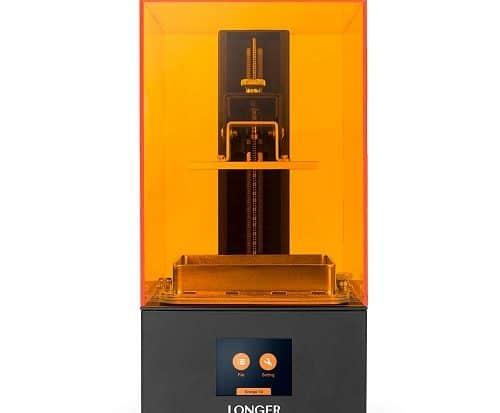 longer orange resin sla 3d printer image