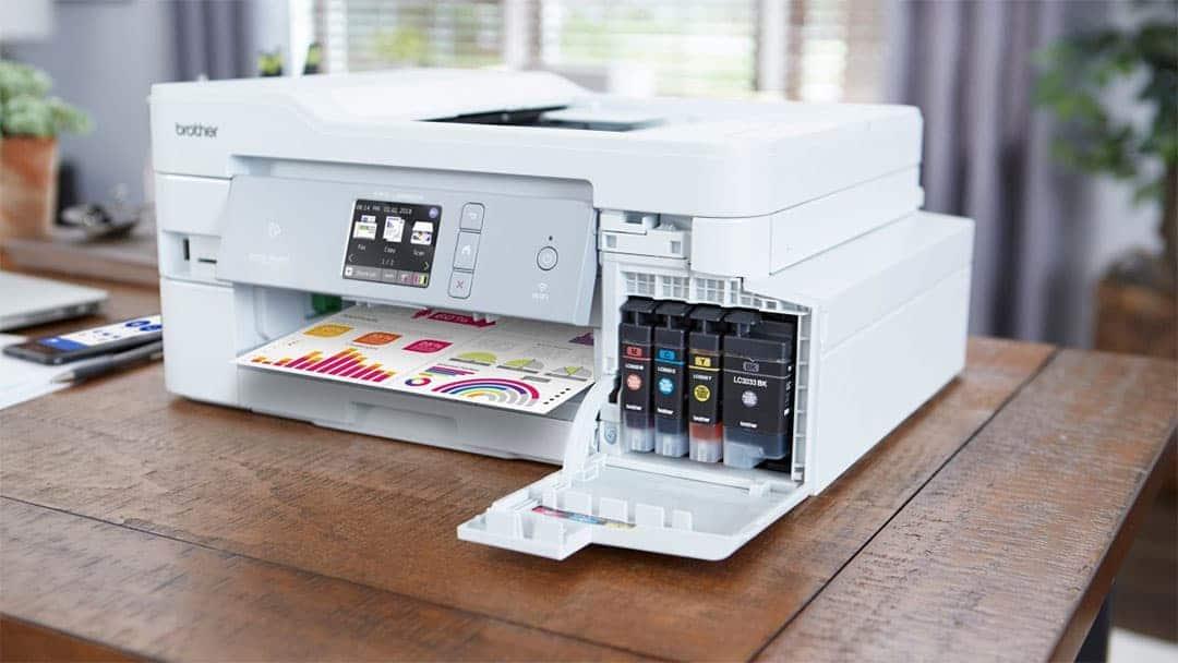 MFC J805DW printer