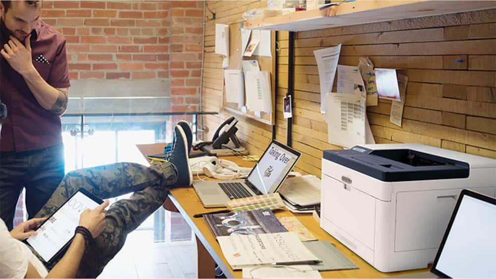 XEROX Phaser 6510 On an office desk